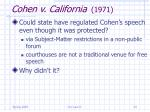 cohen v california 197124