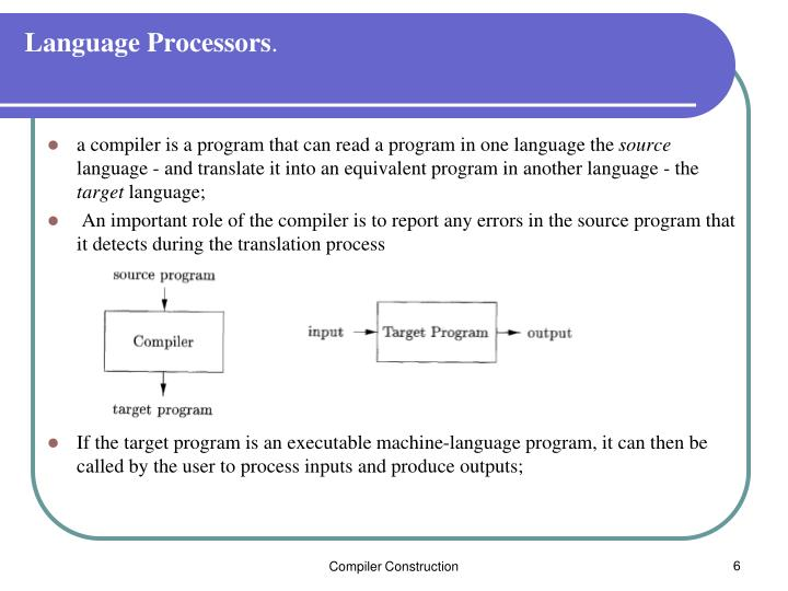 Language Processors