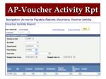 ap voucher activity rpt1