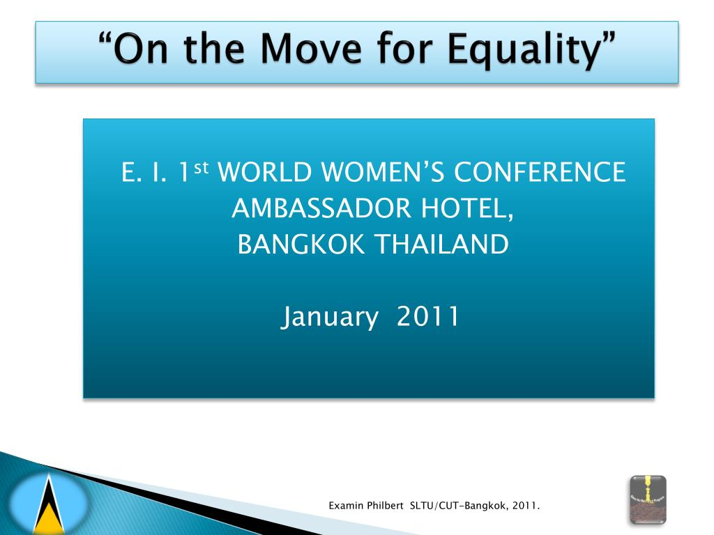 on the move for equality l.