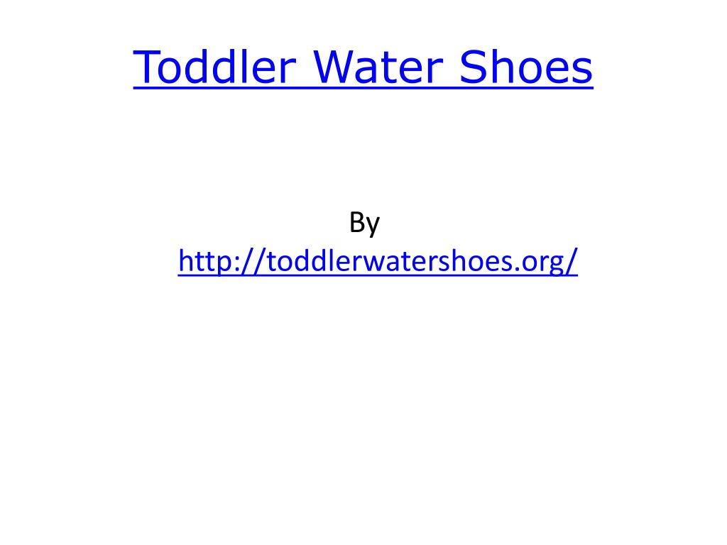 toddler water shoes l.