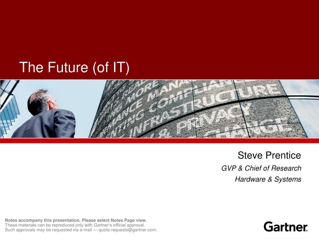 the future of it l.