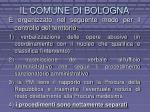 il comune di bologna