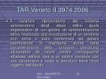 tar veneto ii 3974 2006