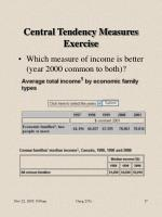 central tendency measures exercise17