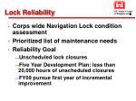 lock reliability