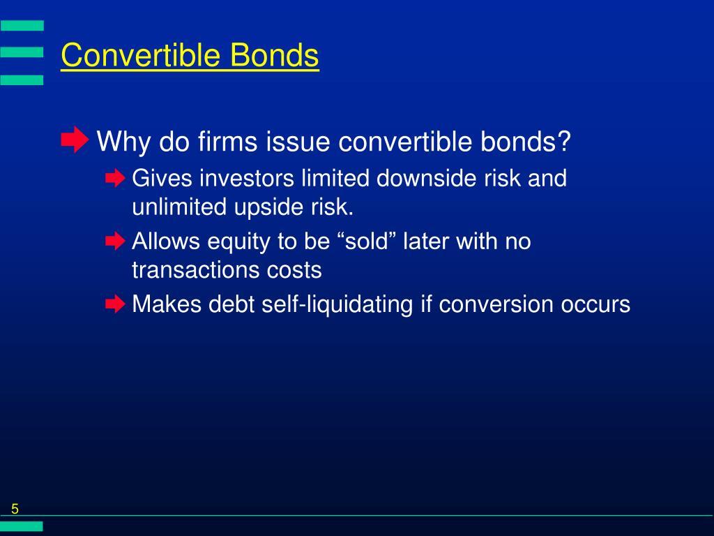 Convertible Bonds