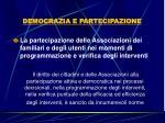 democrazia e partecipazione