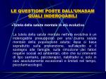 le questioni poste dall unasam quali inderogabili28