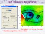 post processing streamlines