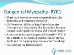 congenital myopathy ryr1