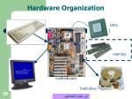 hardware organization36