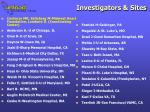 investigators sites