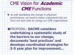 cme vision for academic cme functions52
