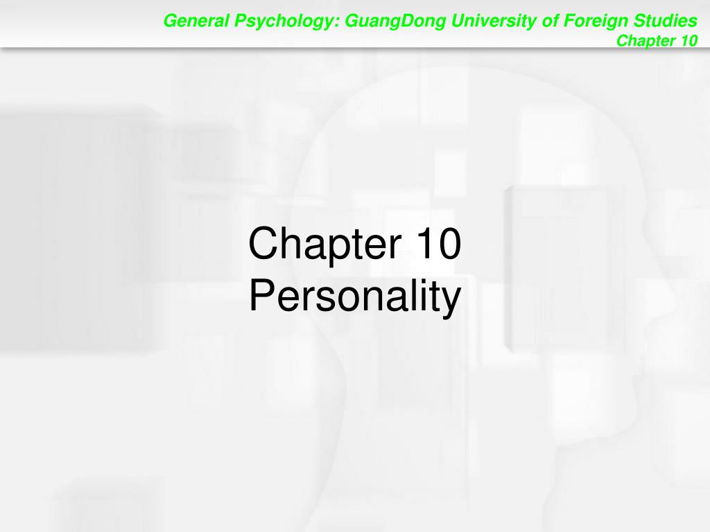 chapter 10 personality l.