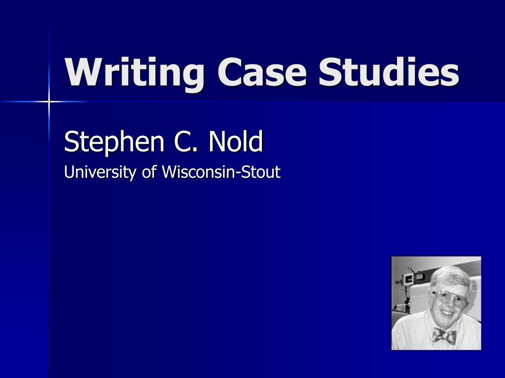writing case studies l.