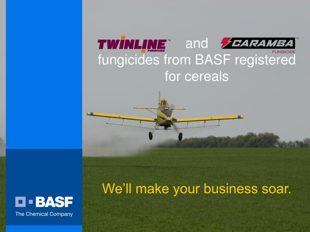 and fungicides from basf registered for cereals l.