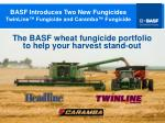 basf introduces two new fungicides twinline fungicide and caramba fungicide