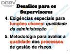 desafios para os supervisores18