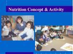 nutrition concept activity