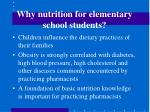 why nutrition for elementary school students5