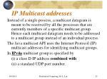 ip multicast addresses