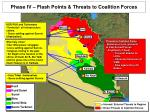 phase iv flash points threats to coalition forces