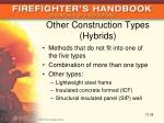 other construction types hybrids