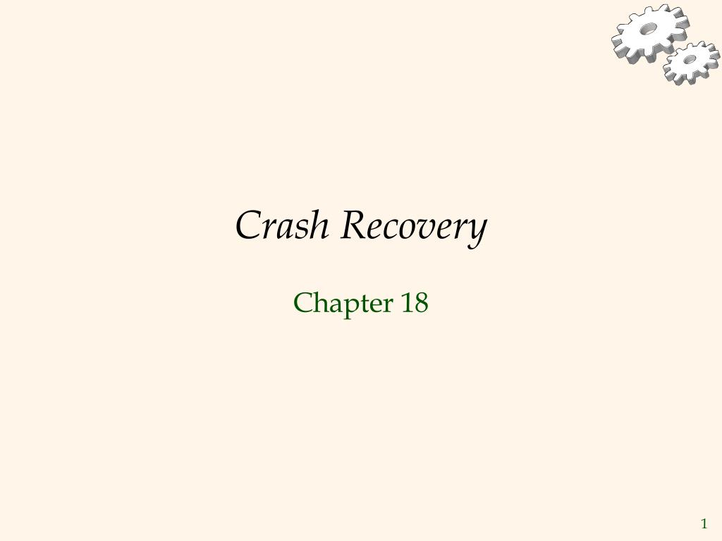 crash recovery l.