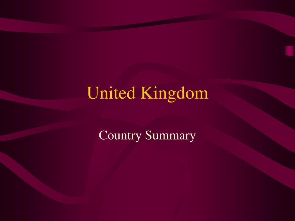 united kingdom l.