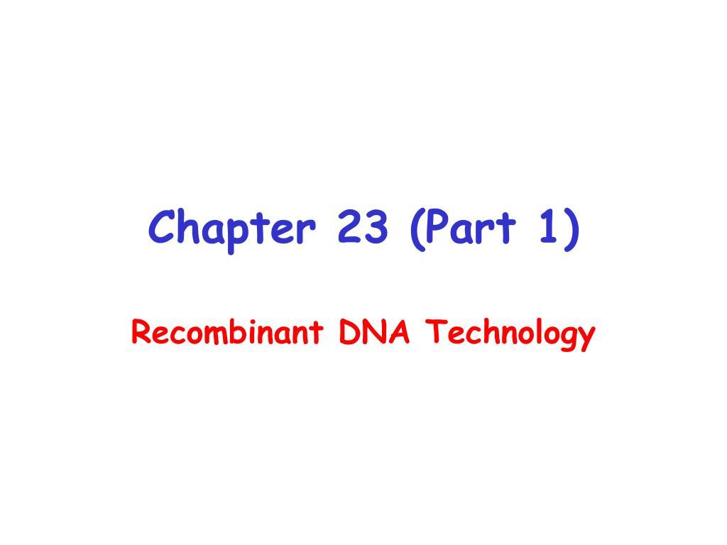 chapter 23 part 1 l.