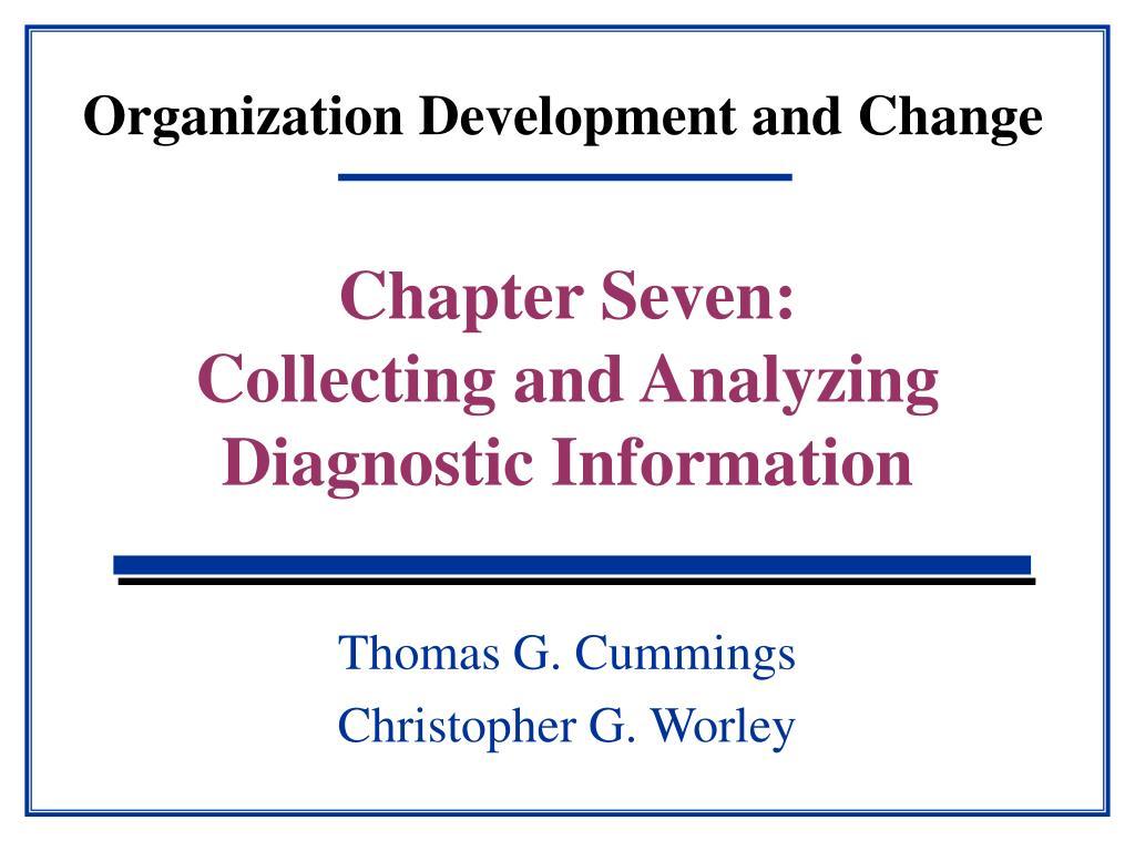organization development and change l.