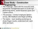 case study construction engineering