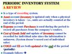 periodic inventory system a review