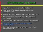 sfv environment test bench