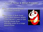 aircraft noise blood pressure
