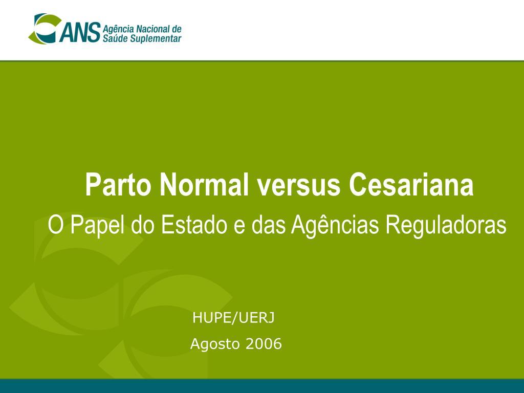 parto normal versus cesariana l.