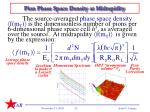 pion phase space density at midrapidity