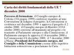 carta dei diritti fondamentali della ue 7 dicembre 2000