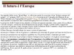 il futuro l europa77