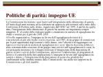 politiche di parit impegno ue53