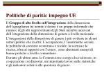 politiche di parit impegno ue54