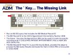 the key the missing link