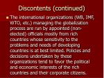 discontents continued7