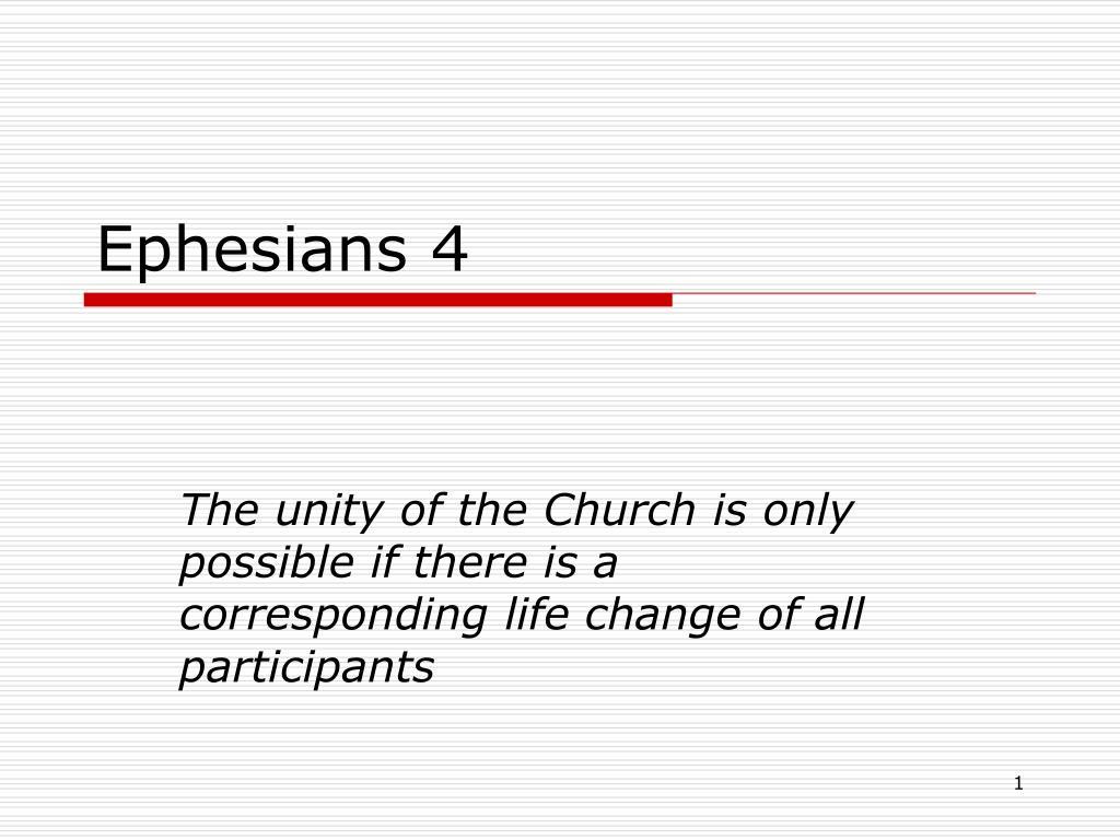 ephesians 4 l.