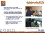 antabamba cics information and training centres