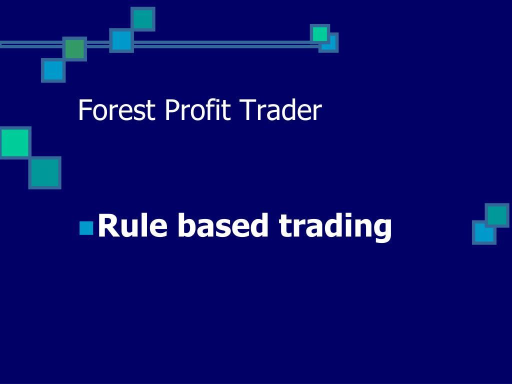 forest profit trader l.
