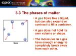 8 3 the phases of matter10