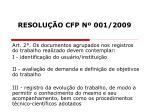 resolu o cfp n 001 20098