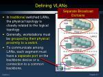 defining vlans